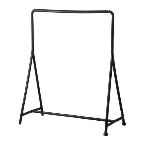 【期間限定】【IKEA/イケア/通販】 TURBO トゥルボー 洋服ラック, ブラック 室内/屋外用, ブラック(d)(50177242)
