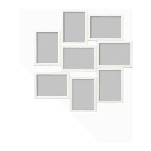 【IKEA/イケア/通販】 VÄXBO ヴェクスボー コラージュフレーム 写真8枚用, ホワイト(c)(20256622)[D]の写真