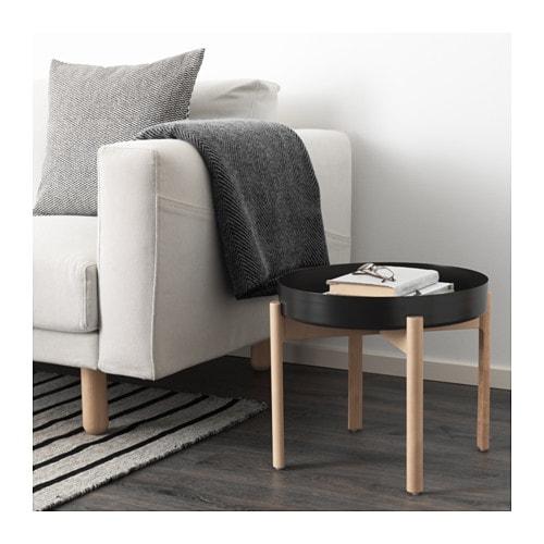 【IKEA/イケア/通販】 YPPERLIG イッペルリグ コーヒーテーブル, ダークグレー, バーチ(d)(50346867)
