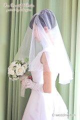 ベール/ウエディングベール/ヴェール/マリアベール/ウェディング/結婚式/ブライダル【10%OFF】...