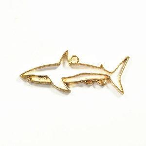 レジン枠ゴールドサメ