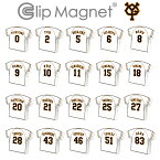 ClipMagnet(クリップマグネット) 読売ジャイアンツ 巨人 選手モデル ユニ型マグネット ユニフォーム GIANTS