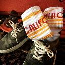 【メール便送料無料】 SOCCO (ソッコ) CrewSock カリフォルニアコレクション メンズ レディース スケボー ...