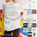 【送料無料】バックロゴBIGT レディース 女の子 Tシャツ ビッグT 半袖 大人かわいい Uネック シ大きいサイズ ルーズ ゆったり WEGO ウ..