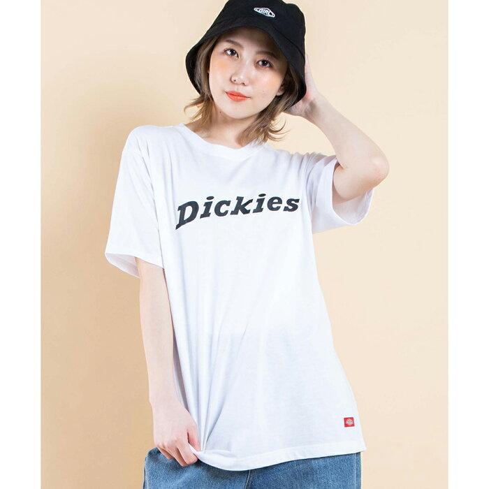 ディッキーズプリントTシャツ メンズ レディース ユニセックス dickies ディッキーズ Tシャツ 半袖 お揃い 夏 シミラー 双子 WEGO ウィゴー プリント トップス ブランド ストリート スポーツ ガーリー