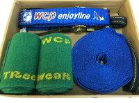 【スラックライン】【WCPslackline】新商品enjoyline12m(ツリーウェア付)2014年新発売セール