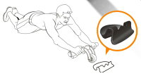 三輪エクササイズブレーキの板膝マットセット腹筋ローラーエクササイズダイエット二の腕痩せ腹筋背筋引き締めダイエットトレーニング器具筋トレ器具ローラーエクササイズローラー腹筋トレーニング