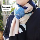 Desigual/デジガル2020春夏☆数量限定!幾何学柄大判ストール