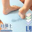 【ポイント5倍・10%引きCP配布】珪藻土バスマット 60c...