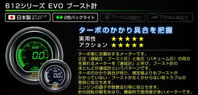 【着後レビューでクーポン】追加メーターオートゲージブースト計52ΦデジタルLCDディスプレイホワイト/グリーンLED車用メーター日本製モーター車ドレスアップ送料無料