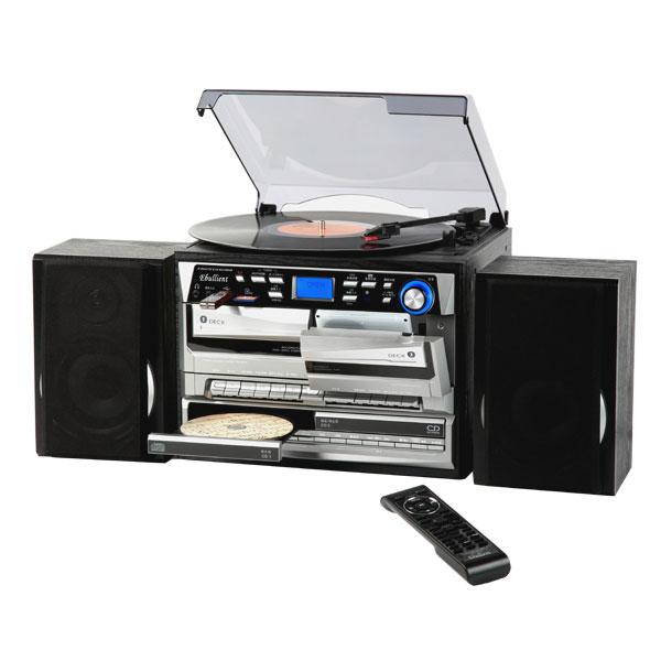 CD録音 CDコピー機能付き レコードプレーヤー USB SD デジタル録音 MP3対応 Wカセットマルチプレーヤー TCDR-3860WE
