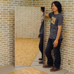 割れない鏡トール吊り式85×170cm