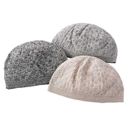 mij 日本製美濃和紙ニット帽子 3色組 NM-0006-SAI
