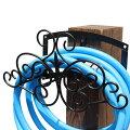 壁掛け式ホースハンガー フィニアル アイアン ホーススタンド IPN-7682 完成品