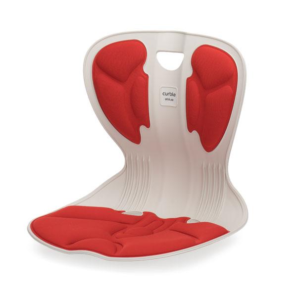 ablue カーブルチェア レッド CURBLE CHAIR COMFY 姿勢 骨盤矯正 座椅子 美容 健康