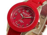 アバランチAVALANCHE腕時計AV-1025-RDRGレッド×ローズゴールド