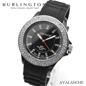 AVALANCHE アバランチ 腕時計 レディース 時計 AV-107S-BK-40 ブラック 黒 人気 ブランド アヴァランチ おしゃれ かわいい 可愛い カジュアル きらきら キラキラ 女性 誕生日 ギフト プレゼント