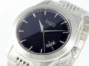 GUCCI グッチ 腕時計 メンズ Men's 時計 Gタイムレス 自動巻き ブラック シルバー 人気 高級 ブランド グッチ腕時計 グッチ時計 オススメ おしゃれ うでどけい 男性 ギフト プレゼント