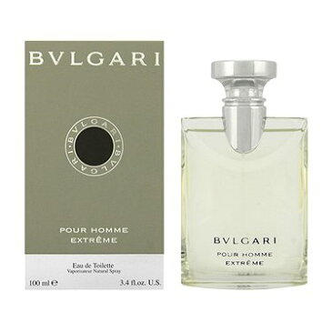 BVLGARI ブルガリ 香水 フレグランス メンズ プールオム エクストレーム EDT 100mL 人気 ブランド ブルガリ香水 ブルガリの香水 男性用 ブルガリプールオム 贈り物 贈答 誕生日 ギフト クリスマス プレゼント