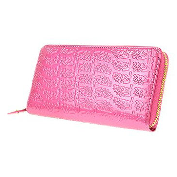 Follie Follie フォリフォリ 長財布 レディース WA0L024SP ピンク 人気 ブランド ロング ウォレット フォリフォリ財布 サイフ フォリフォリ長財布 さいふ 可愛い カジュアル 高校生 フォリフォリの財布 大人 かわいい 女性用