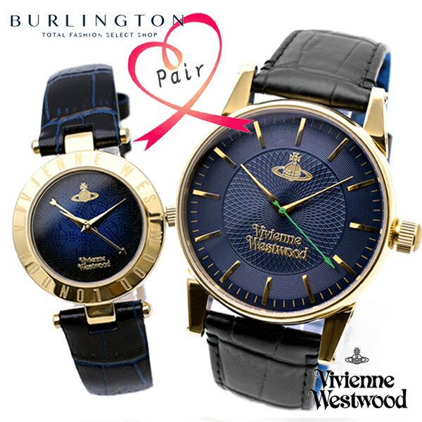 腕時計, ペアウォッチ  Vivienne Westwood VV065NVBK-VV092NVNV Xmas