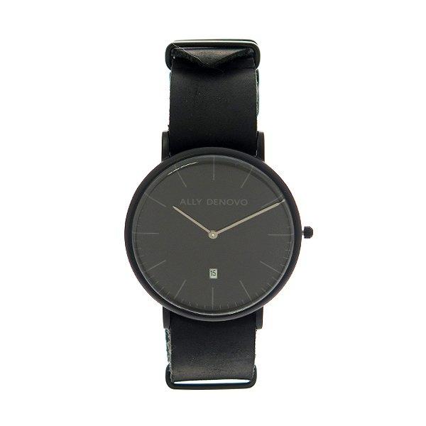 アリーデノヴォ 腕時計 レディース ALLY DENOVO 40mm AM5015-2 HERITAGE ブラック 人気 ブランド アリーデノヴォ腕時計 アリーデノヴォ時計 おしゃれ 可愛い アリー デノヴォ 時計 女性 ギフト プレゼント