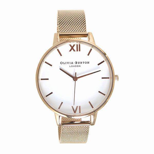 オリビアバートン 腕時計 レディース OLIVIA BURTON OB15BD79 ホワイト×ピンクゴールド 人気 ブランド オリビア・バートン 時計 オリビアバートン時計 オリビアバートン腕時計 おしゃれ かわいい おすすめ 女性用 ギフト プレゼント