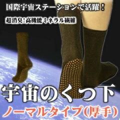 【送料無料】【メール便】消臭・制菌・保温 セイホウ 「宇宙の靴下」 ノーマルタイプ(厚手)