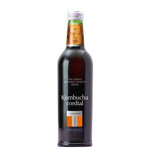 ソーンクロフト社ハーブコーディアルKombucha(コムブッカ)375ml〜ナチュラルハーブ飲料〜