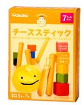 【特売セール】 和光堂のおやつ チーズスティック 7ヶ月頃から (3本×7袋入り)