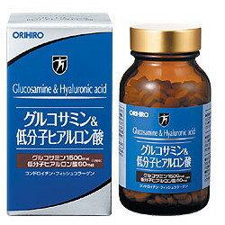 オリヒロ グルコサミン&低分子ヒアルロン酸 (約432粒) ウェルネス