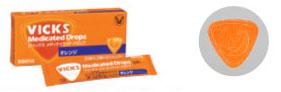 大正製薬 ヴィックスドロップ 【オレンジ】 (50個入) 【医薬部外品】 ウェルネス