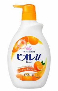 花王 ビオレu ボディウォッシュ シャキッとオレンジの香り ポンプ (550ml)