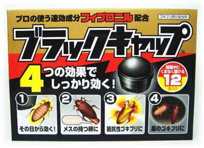 ★税込1980円以上で送料無料★  アース製薬 ブラックキャップ(12個入り)