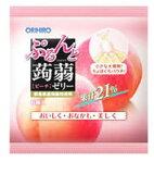 オリヒロ ぷるんと蒟蒻ゼリー 【ピーチ】 パウチゼリータイプ (20g×6個)