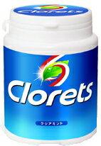 【ポイント12倍】 クロレッツXP クリアミント ボトルLS シュガーレス粒ガム (150g)