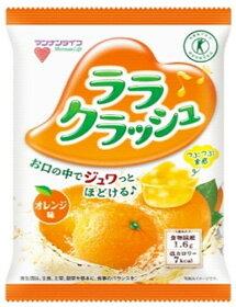 マンナンライフ 蒟蒻畑 ララクラッシュ オレンジ味 (24g×8個) こんにゃくゼリー こんにゃく畑 特定保健用食品 トクホ