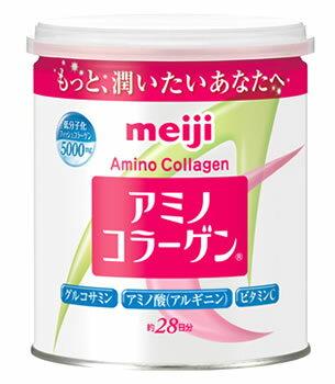 明治 アミノコラーゲン 缶タイプ (200g) アミコラ 約28日分 ※軽減税率対象商品