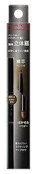 カネボウ ケイト ラスティングデザインアイブロウW N SL BR-3 自然な茶色 (0.38g) 細芯ペンシル パウダー アイブロウ