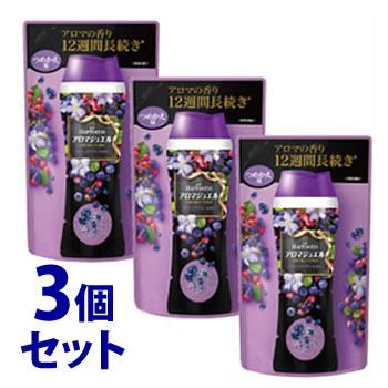 《セット販売》 P&G レノア レノアハピネス アロマジュエル サファイアベリーの香り つめかえ用 (455mL)×3個セット 詰め替え用 【P&G】