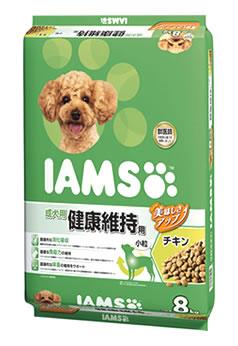マースジャパン アイムス 成犬用 健康維持用 チキン 小粒 (8kg) ドッグフード