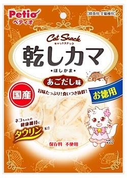 ペティオ キャットスナック 乾しカマ あごだし味 (45g) キャットSNACK キャットフード 猫用おやつ