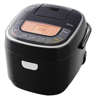 アイリスオーヤマ 米屋の旨み 銘柄炊き ジャー炊飯器 5.5合 RC-MC50-B ブラック (1台) 炊飯器