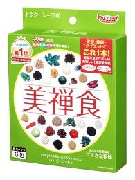 ドクターシーラボ 美禅食 びぜんしょく ゴマきな粉味 (15.4g×6包) ダイエット食品 ウェルネス