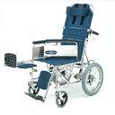 リクライニング 車椅子 エレベーティング アームサポート着脱 NA-118B 介助用 日進医療 nissin 16インチ 車イス 車いす くるまいす 楽な姿勢 角度を変える 背もたれ 1