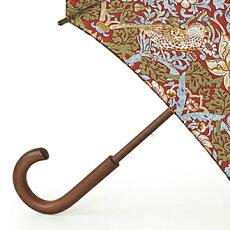 フルトンFULTON傘かさアンブレラデザイナーコラボStrwaberryThirfRomaウイリアムモリス長傘【送料無料】英国王室御用達ストロベリーシーフフラワー花柄レディースWilliamMorrisUmbrellaイギリスロンドンfultonl715strwaberry