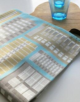 奧斯卡法蘭西斯茶巾餐墊桌布餐墊餐巾躺的英國廚房小工具塊 osctowelblock 墊茶巾餐具墊茶巾禮品