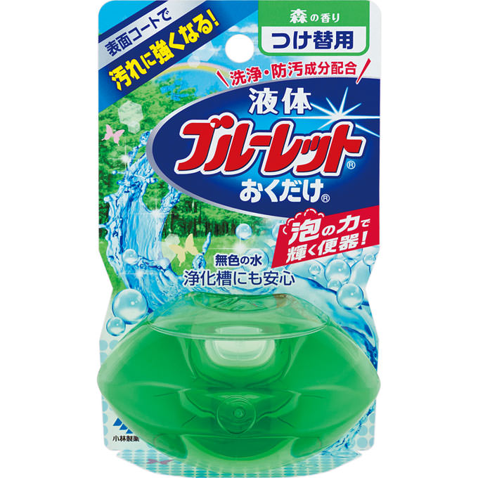 液体ブルーレットおくだけ つけ替用 森の香り 70mL ウェルパーク