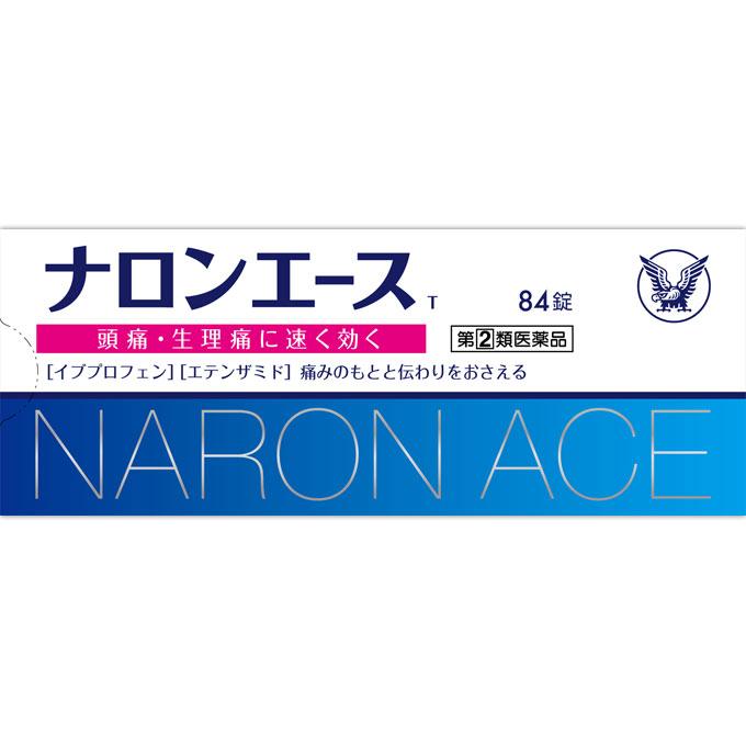 ★【指定第二類医薬品】ナロンエースT 84錠 ウェルパーク