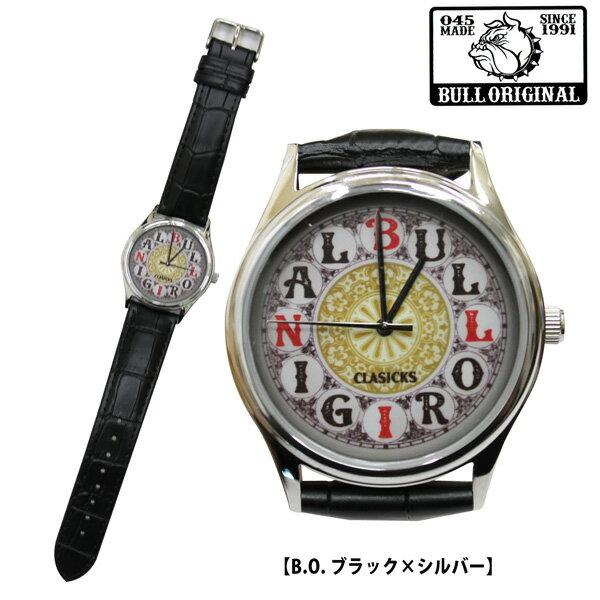 最終セール B.S.M.G.メンズ腕時計時計カジュアル時計レザーBULLORIGINALブルオリジナルBULL-LAC01Wa